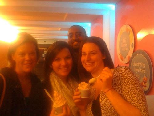 Friends at Tasti D Lite