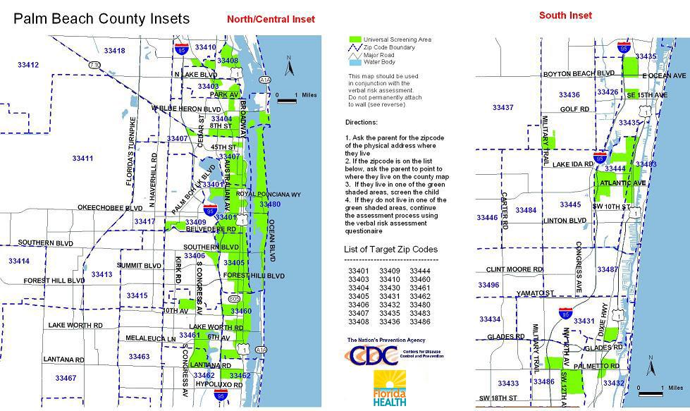 11 miami dade zip code list - maps database source
