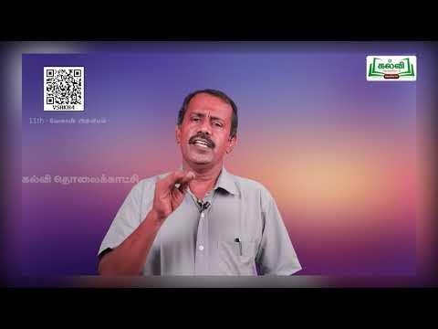 11th Agricultural Science வேளாண்மையின் வரலாறு அலகு 1 Kalvi TV