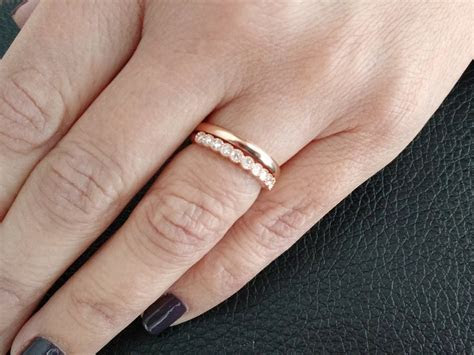 Unique Diamond Wedding Band,14k Rose Gold,Yellow Gold,18k