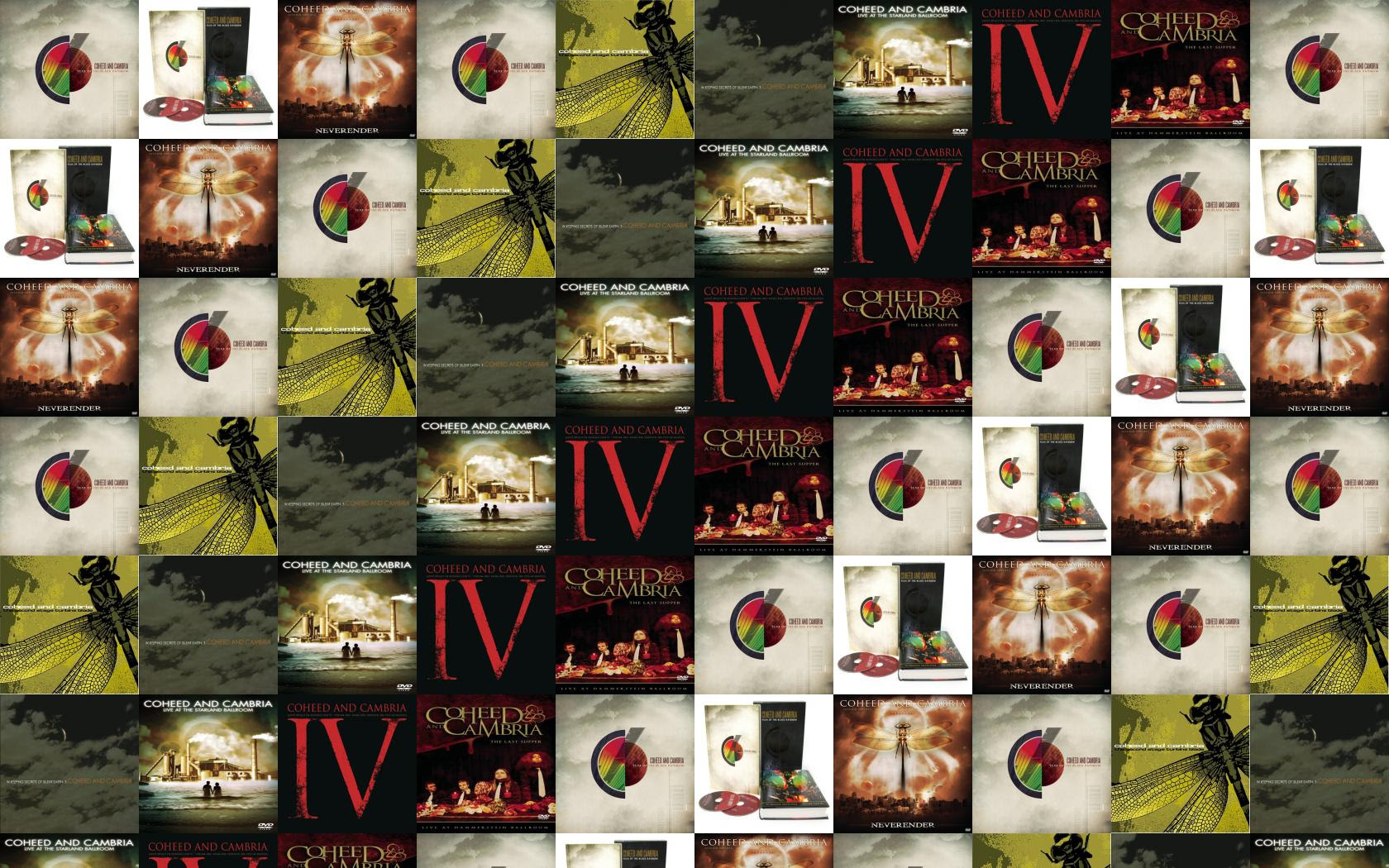 Coheed And Cambria Year Of The Black Wallpaper Tiled Desktop