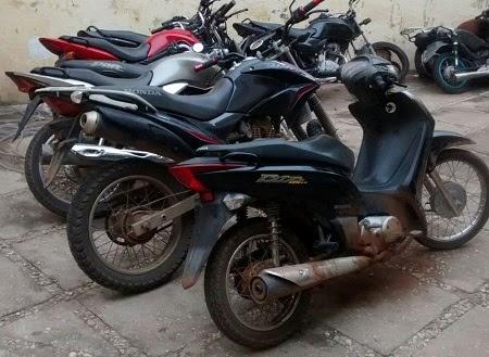 Polícia recupera na cidade de Parnarama motocicletas roubadas em Caxias