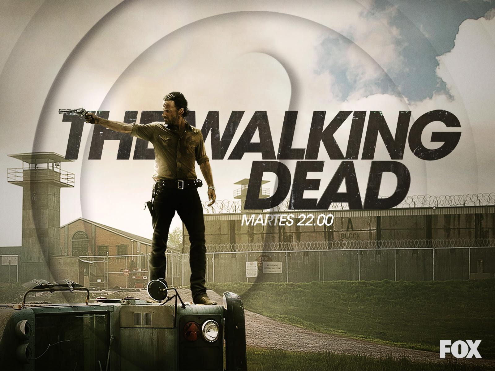 The Walking Dead Wallpaper Rick Hd Grimes