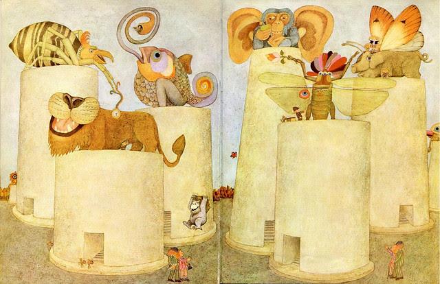Etienne Delessert - IONESCO'S STORY No1, children's book