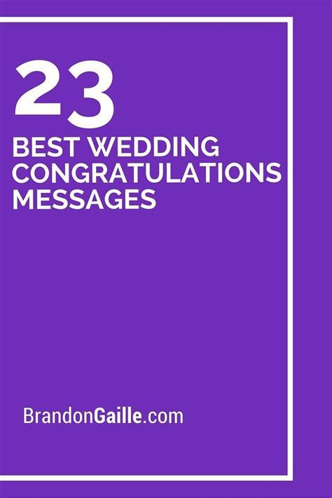25 Best Wedding Congratulations Messages   Card sentiments