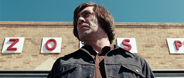 Anton Chigurh in No Country for Old Men