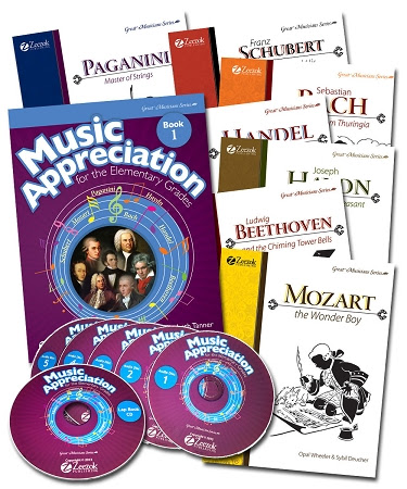Music Appreciation Curriculum for Homeschoolers