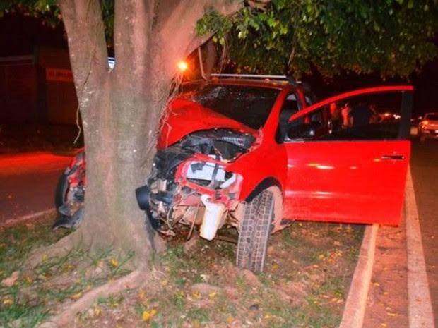 acidente Vilhena (Foto: Carlos Franco/Extra de Rondônia)