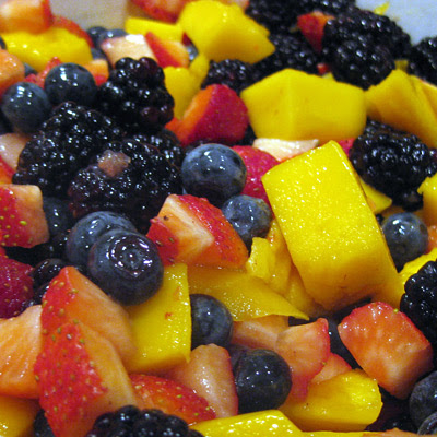 Fruit for crumble