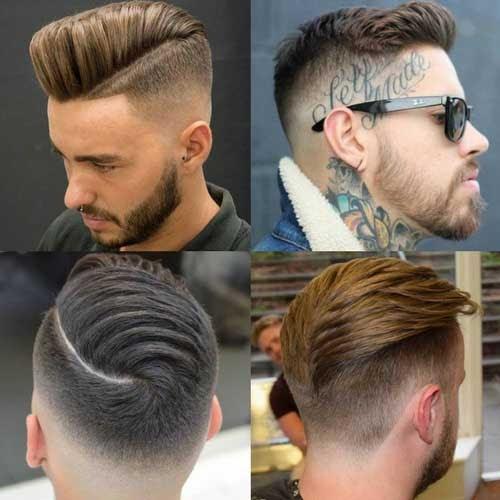 Hairstyle Back Side Boy Photo