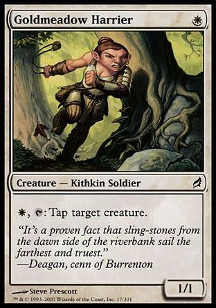 Hostigadora de la pradera dorada