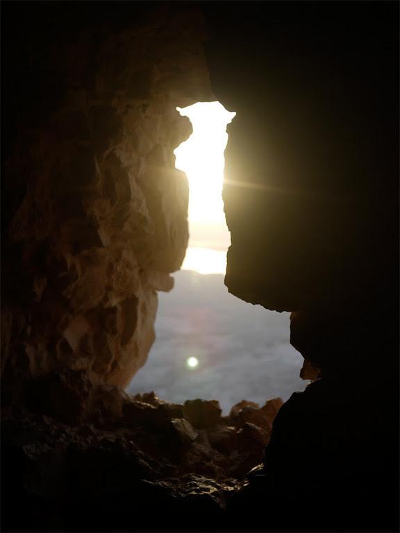 masada Israel  To Climb Masada at Dawn