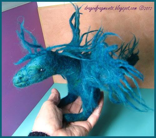 Week 26 - Winterfest the felt dragon
