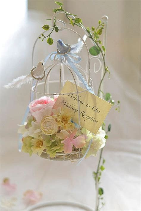 Birdcage Ring Bearer Wedding Ring Pillow & Birdcage by