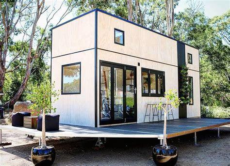 beautifully minimalist sowelo tiny home  built