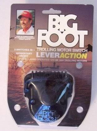 Best big foot trolling motor switch lever action for all for Foot operated trolling motor