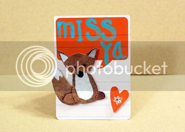 Miss Ya card