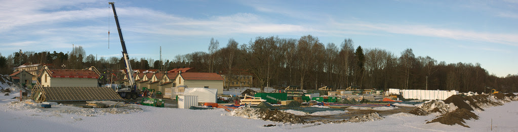 Building Site Panorama
