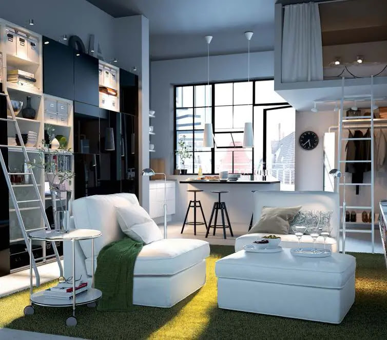 IKEA Living Room Design Ideas 2012 | DigsDigs