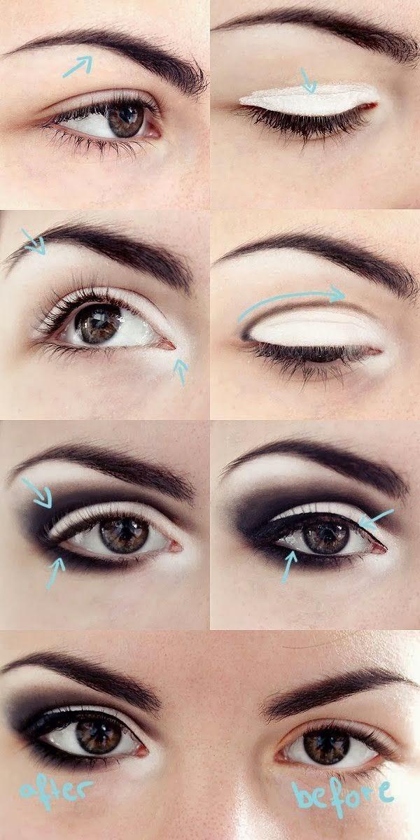 Makeup tricks to make eyes look bigger over 50