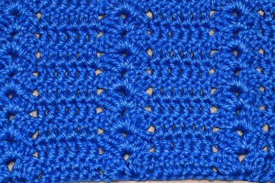 Punto 46 tejido a crochet