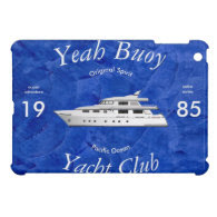 Yacht Club Yeah Buoy iPad Mini Covers