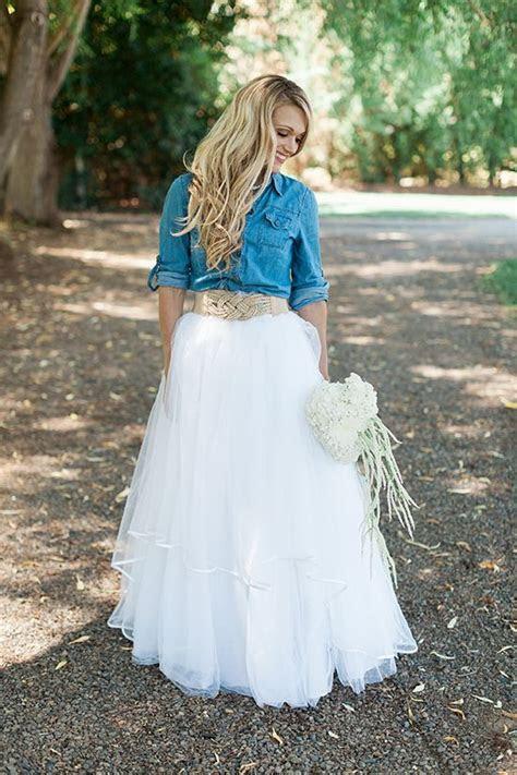Cowgirl Bridal Shower Ideas   Allure Weddings   Denim