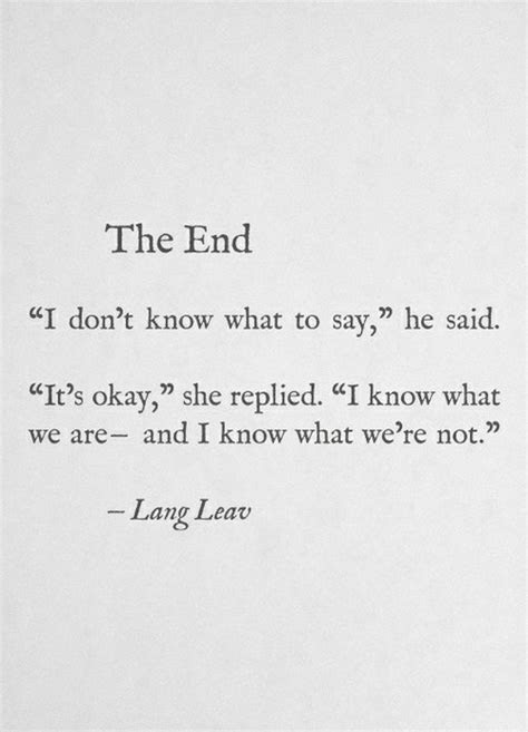 End Of Relationship Quotes Tumblr