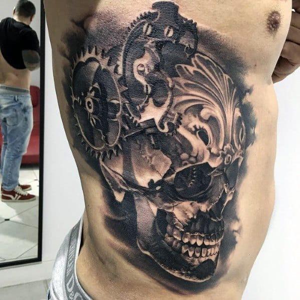 60 Badass Skull Tattoos For Men Masculine Design Ideas