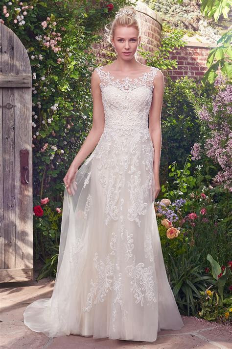 Alexis Wedding Dress from Rebecca Ingram   hitched.co.uk