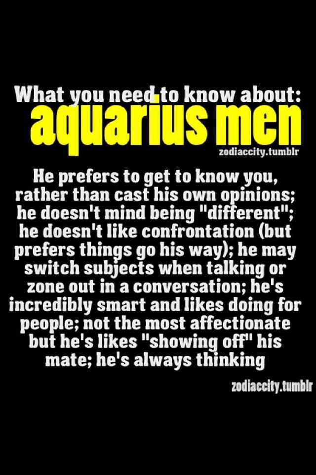 Aquarius Men Quotes. QuotesGram