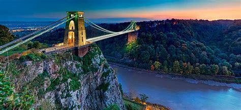 Clifton Suspension Bridge, Abbots Leigh and Woods