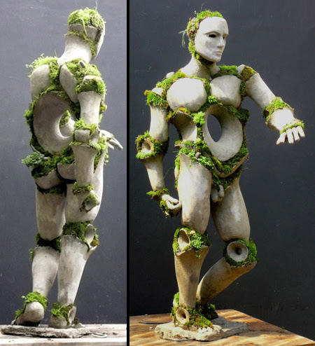 Growing Sculptures