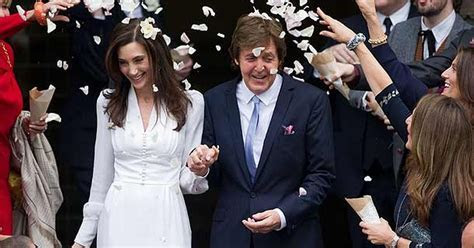 Paul McCartney wedding: former Beatle tells guest new