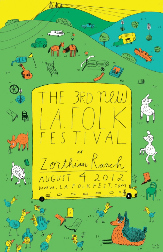 August 4, 2012 — The 3rd New L.A. Folk Festival