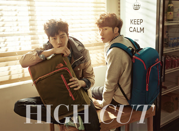 Infinite L and Sung Gyu - High Cut Magazine Vol.143