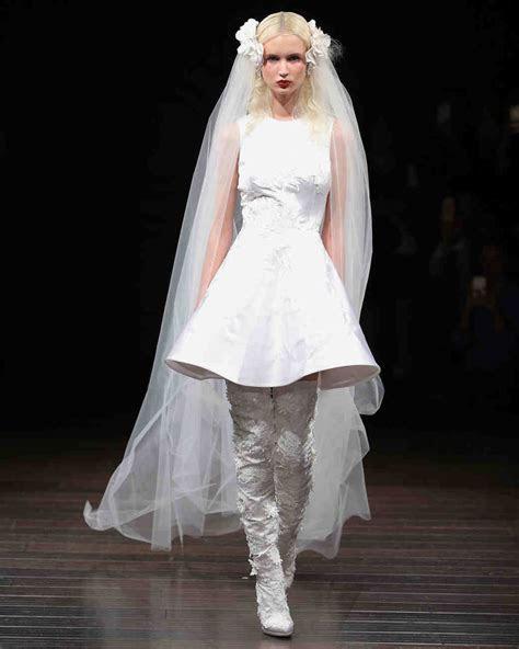 73 Chic Short Wedding Dresses   Martha Stewart Weddings