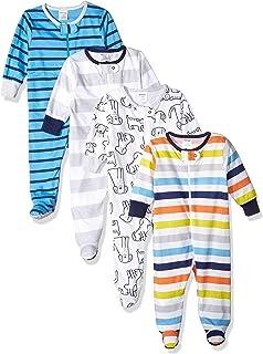 Baby Clothes Boy | Onesies Brand Baby Boys 4-Pack Sleep 'N Plays Footies