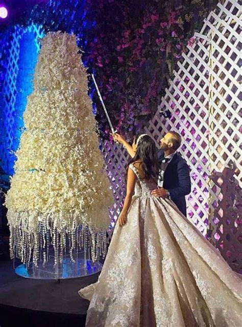 10 photos that prove how over the top Lebanese weddings can be
