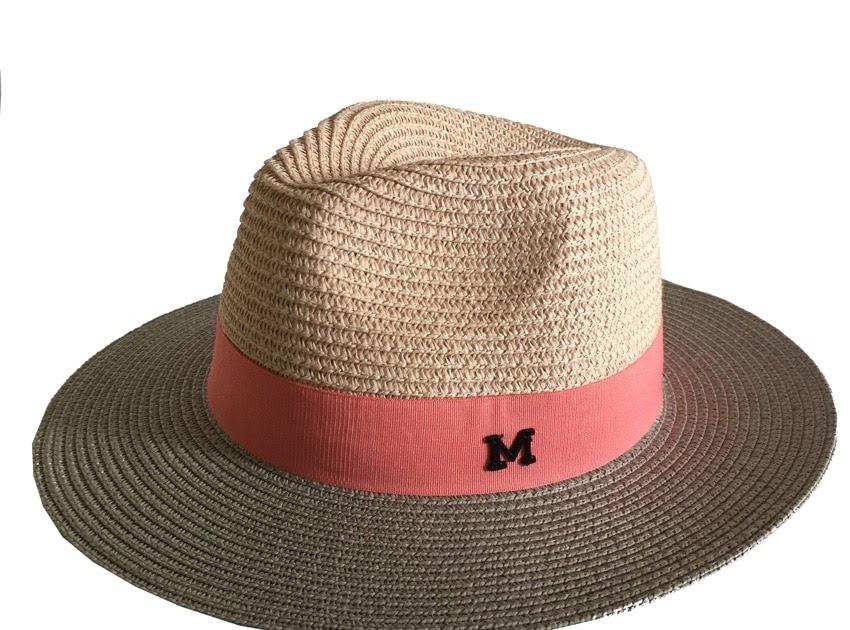 Comprar Moda De Verano Sombrero Paja Grande Del Sol Color Patchwork Mujeres  Letra M Panamá Sombrero Trilby Sombreros Playa Online Baratos ~  pinokio-paradize 608c9e1a7c1