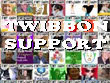 Twitter support as shown by a FREE GARY ribbon called a twibbon nearly 3000 people have displayed free gary across their picture