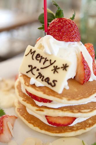 Christmas Pancakes, J.S. Pancake Cafe, Aoyama