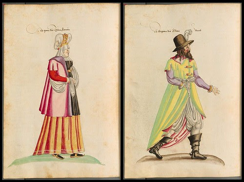Northern Greece, Ethiopia and Tatar people national costumes