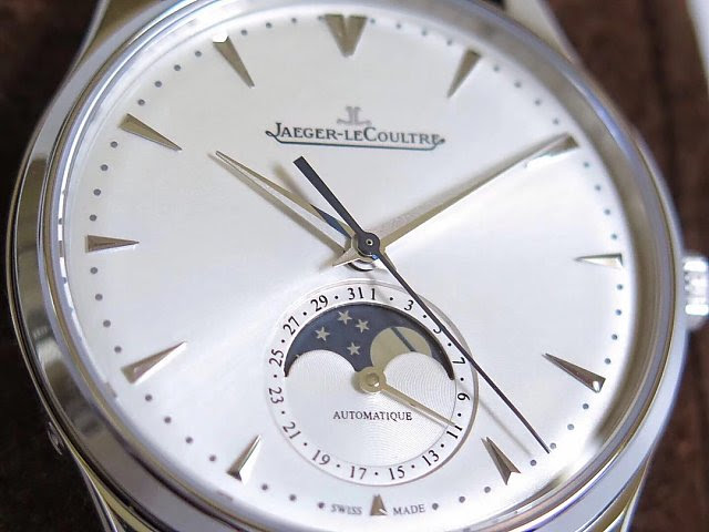 Jaeger LeCoultre Real Moonphase Display