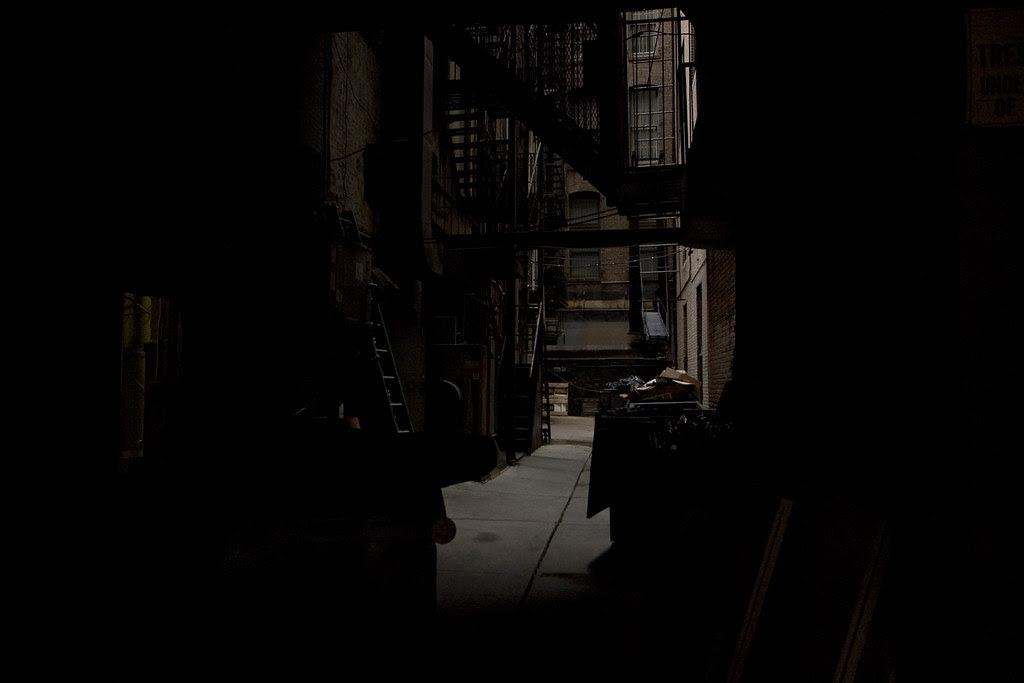 That dark alley