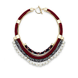 C Wonder Multi Chord Americana Necklace