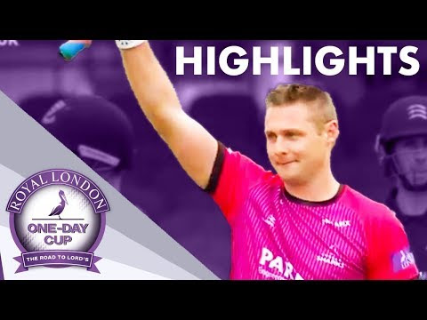 Luke Wright Makes Record-Breaking 166 in Royal London One-Day Cup