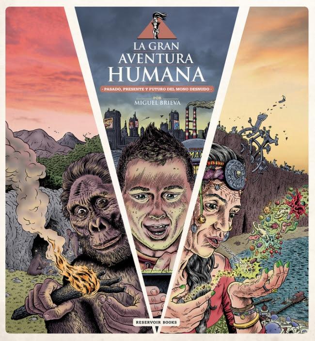 """Resultado de imagen de """"la gran aventura humana"""" miguel brieva"""