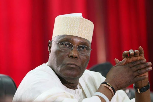 Image result for Be glad you're not yet in jail – Presidency threatens Atiku