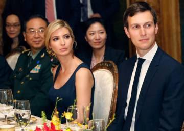 La empresa de Ivanka Trump obtuvo los derechos de dos marcas en China el día en que cenó con el presidente Xi